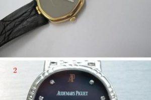 表盘和表针镶嵌钻石手表